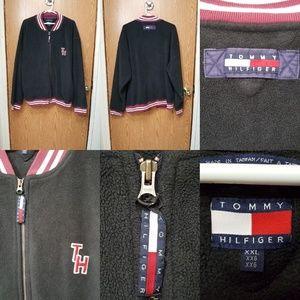 Tommy Hilfiger Men's Fleece Varsity Jacket XXL